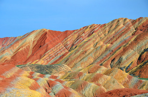 Zhangye Danxia Landform, China_b