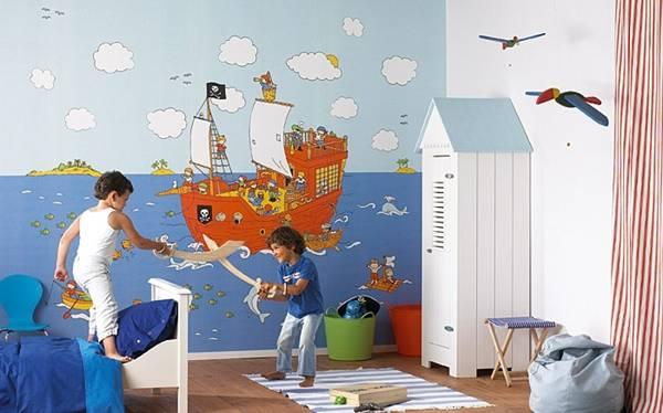 Πολύχρωμα παιδικά δωμάτια