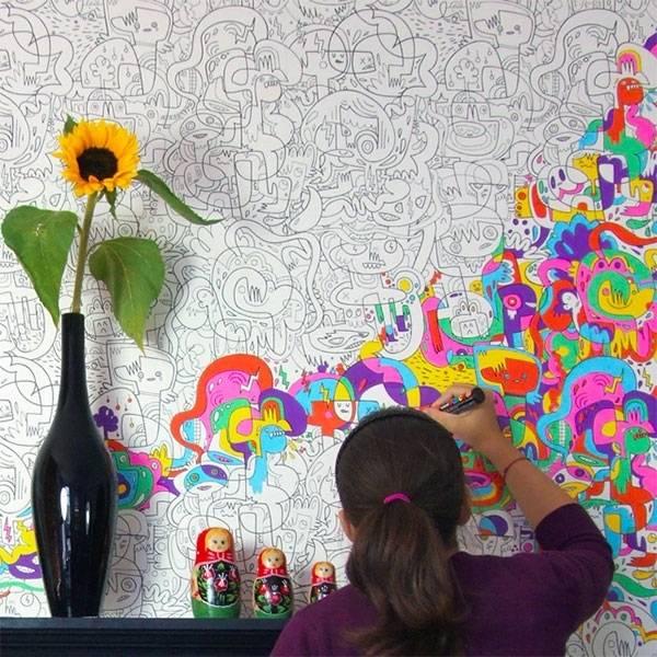Πολύχρωμα παιδικά δωμάτια1