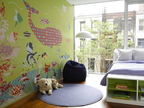 Πολύχρωμα παιδικά δωμάτια13