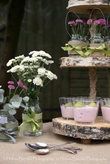 DIY Ρουστίκ ξύλινο σταντ τούρτας1
