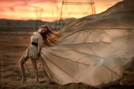 Γυναίκα πεταλούδα