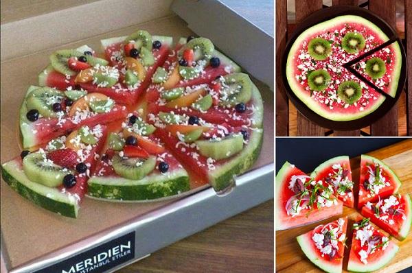 Πώς να κάνετε μια Πίτσα καρπούζι1