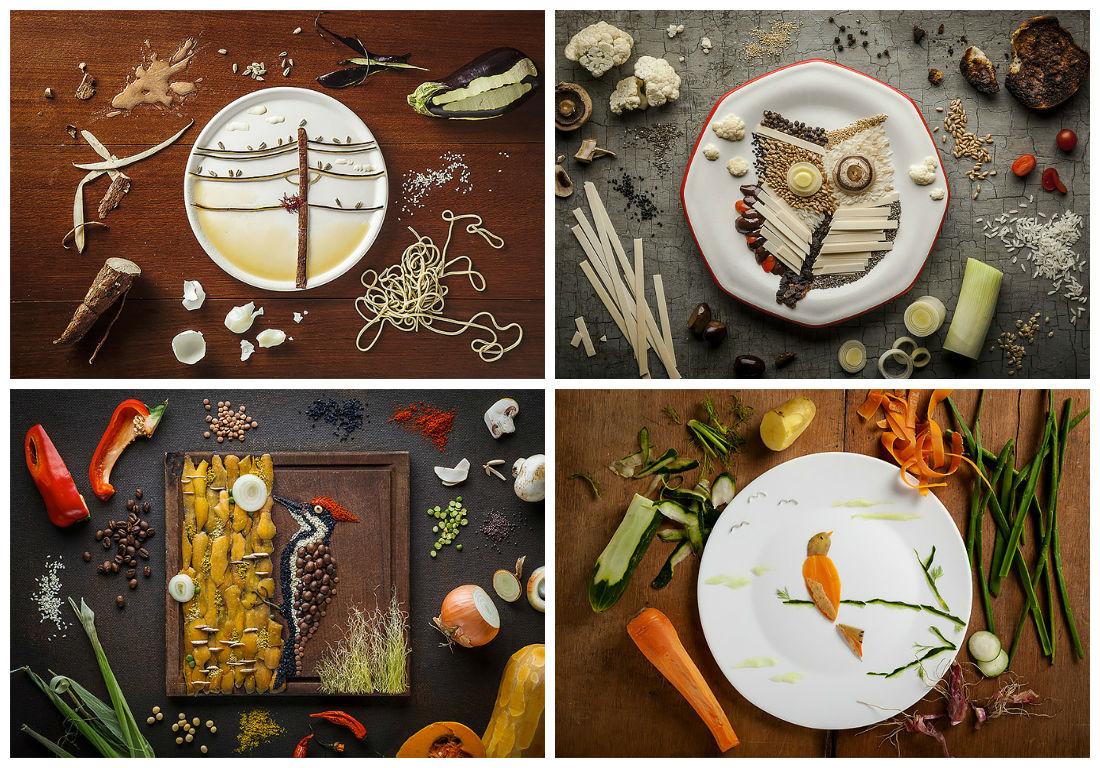 Τέχνη από φαγητά1