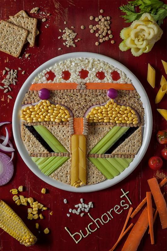 Τέχνη από φαγητά2
