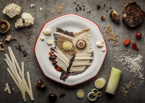 Τέχνη από φαγητά4