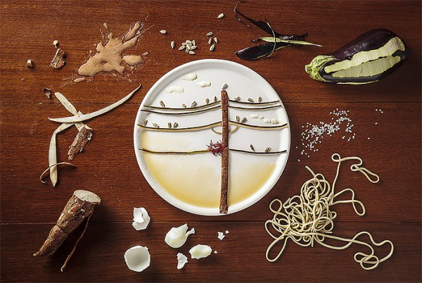 Τέχνη από φαγητά6