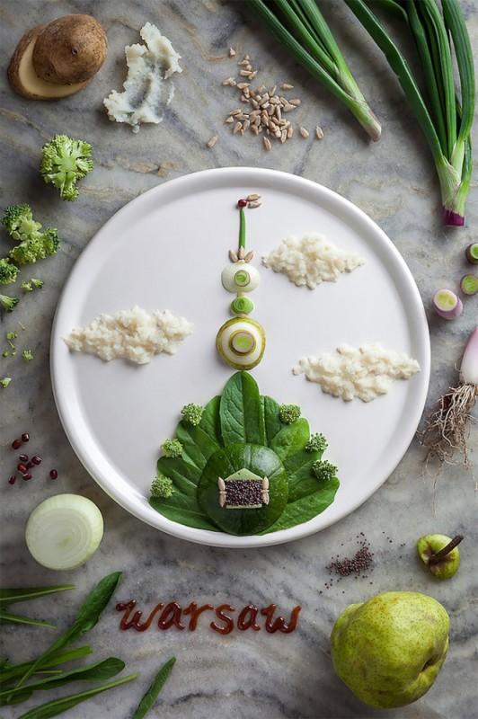 Τέχνη από φαγητά8