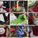 9 Απίθανοι τρόποι για να διπλώστε χαρτοπετσέτες για τις γιορτές