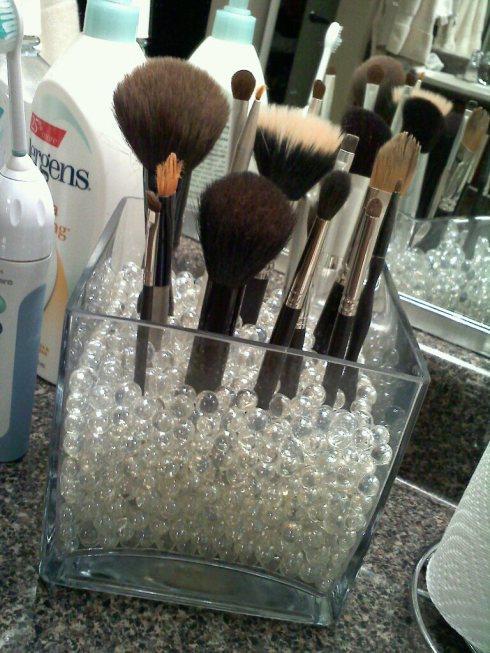 DIY ιδέες οργάνωσης Μακιγιάζ13