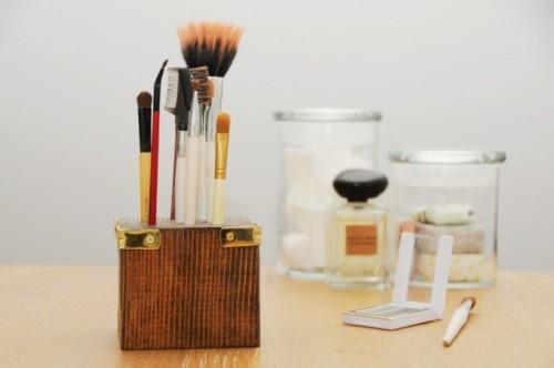 DIY ιδέες οργάνωσης Μακιγιάζ5
