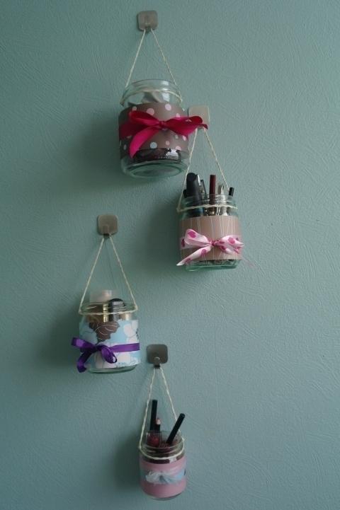 DIY ιδέες οργάνωσης Μακιγιάζ6