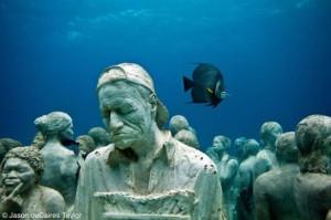 Museo Subacuático de Arte3,Cancún, Mexico
