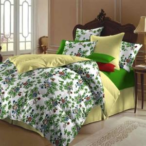 bedroom-design-inspirations-fresh-green-flower-design-bed