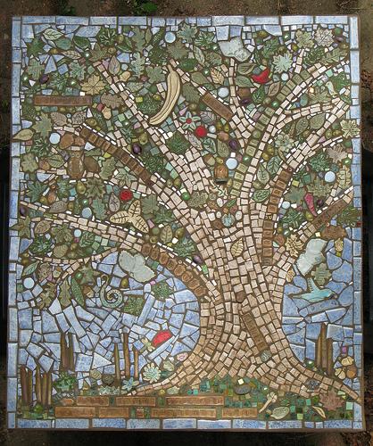 Δέντρο από Μωσαϊκό