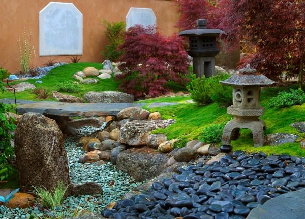 Κήπος με βότσαλα