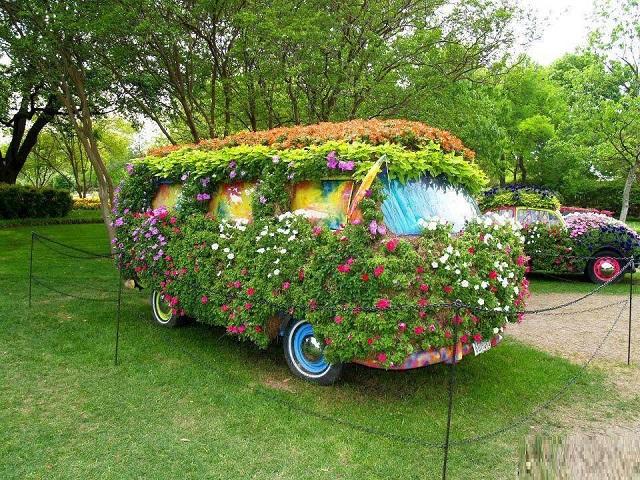 δημιουργικές ιδέες κήπου4