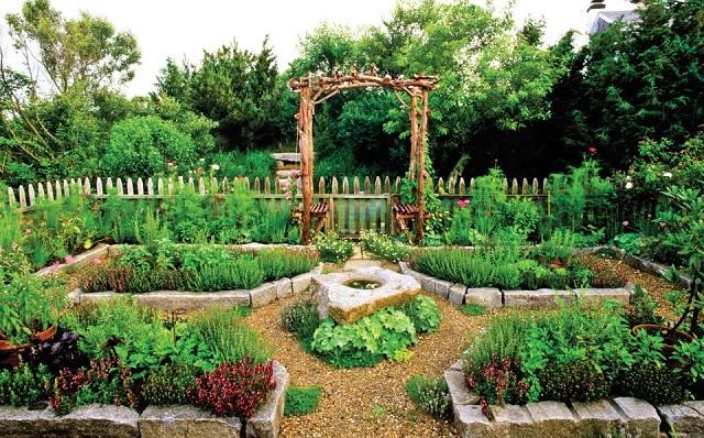 δημιουργικές ιδέες κήπου9
