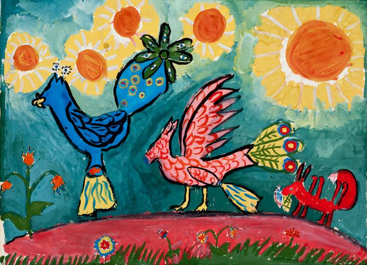 ζωγραφιές έργα τέχνης από παιδιά1