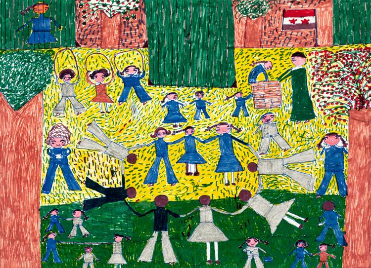 ζωγραφιές έργα τέχνης από παιδιά2