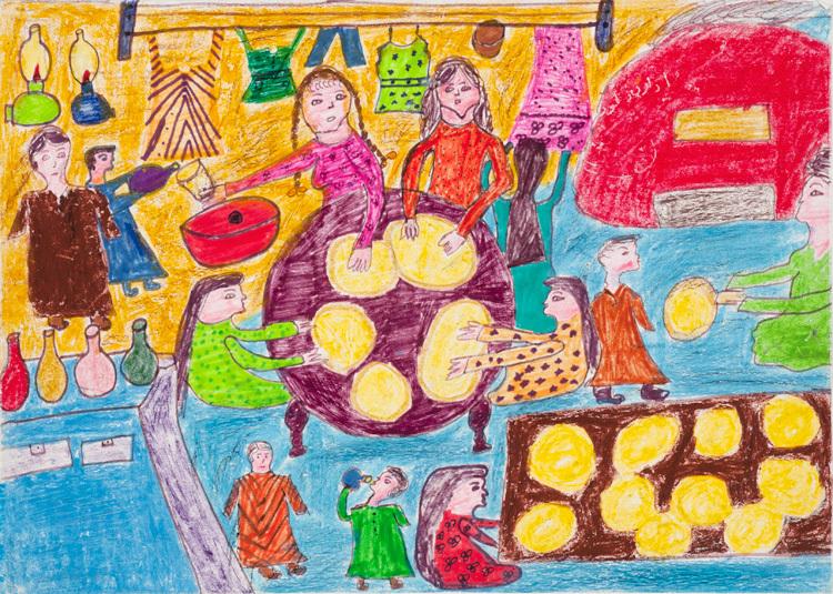ωζωγραφιές έργα τέχνης από παιδιά3