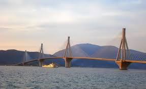 Rio Andirio Bridge, Greece