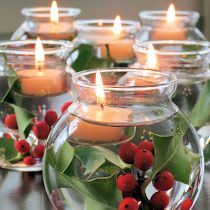 Γυάλες με κεριά