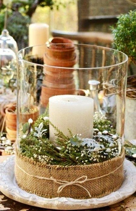 Ποτήρι με κερί και γκί
