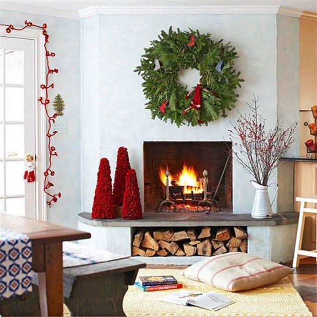 Χαρούμενες ιδέες Χριστουγεννιάτικης διακόσμησης17