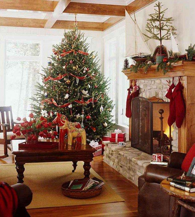 Χαρούμενες ιδέες Χριστουγεννιάτικης διακόσμησης19