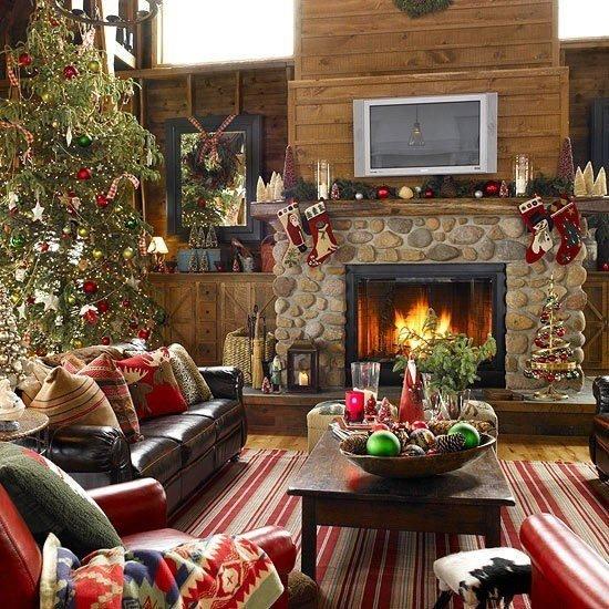 Χαρούμενες ιδέες Χριστουγεννιάτικης διακόσμησης28