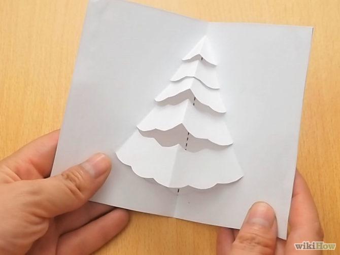 Diy  3d χριστουγεννιάτική κάρτα6