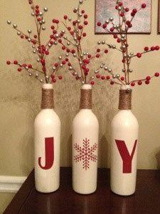 JOY σε μπουκάλια κρασιού