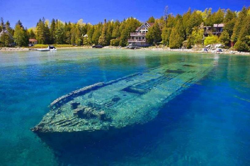 Lake Huron, North America