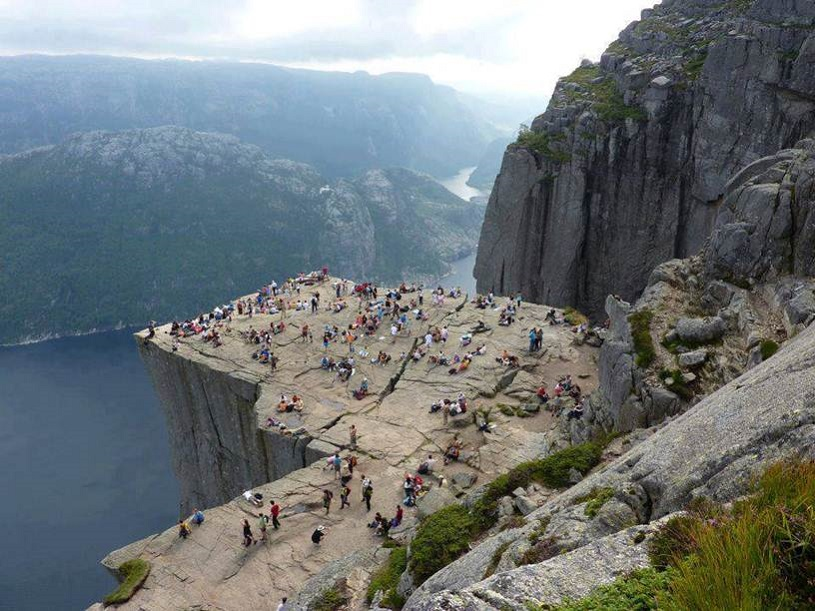 Preikestolen, Cliff in Norway