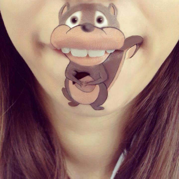 Spectacular-Lip-Art-Designs-Dale