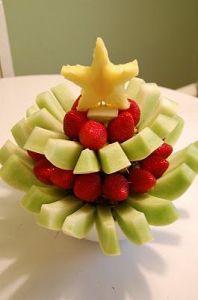 Χριστουγεννιάτικο φρουτόδεντρο