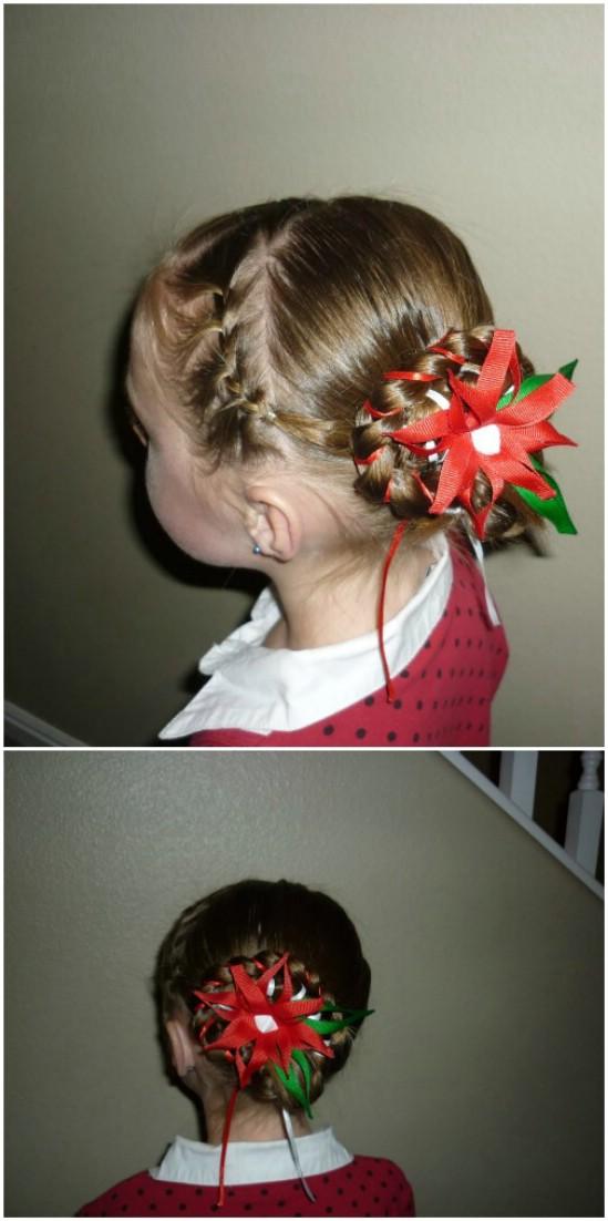 DIY Χτενίσματα για τα Χριστούγεννα7