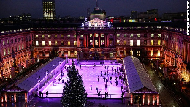 Skate at Somerset House, Λονδίνο
