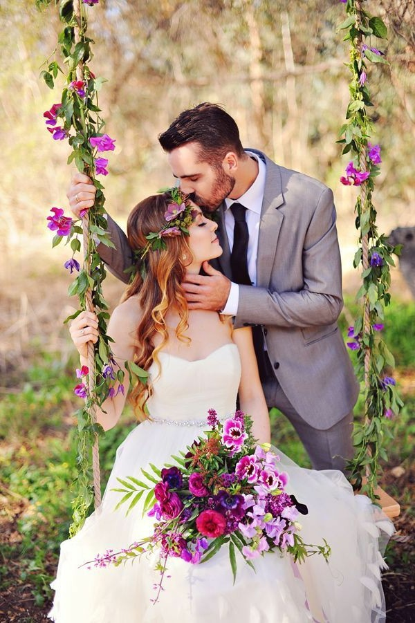Εκπληκτικές ιδέες διακόσμησης με λουλούδια για το γάμο σας1