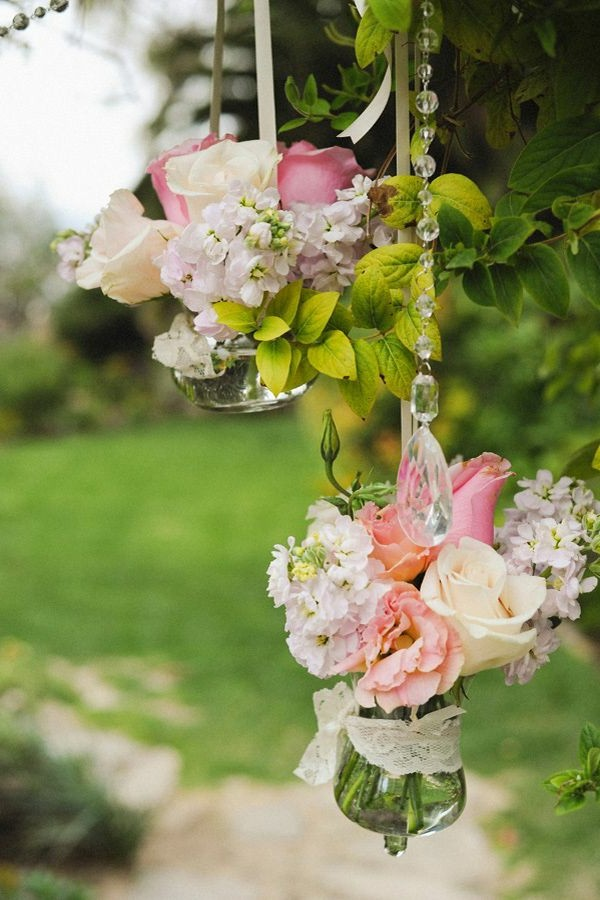 Εκπληκτικές ιδέες διακόσμησης με λουλούδια για το γάμο σας14