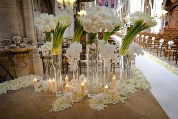 Εκπληκτικές ιδέες διακόσμησης με λουλούδια για το γάμο σας3