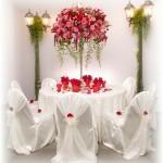 Εκπληκτικές ιδέες διακόσμησης με λουλούδια για το γάμο σας9