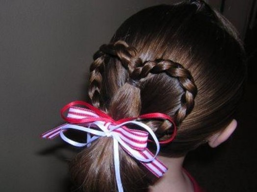 Ιδέες για Αξεσουάρ μαλλιών για Valentine's Day4