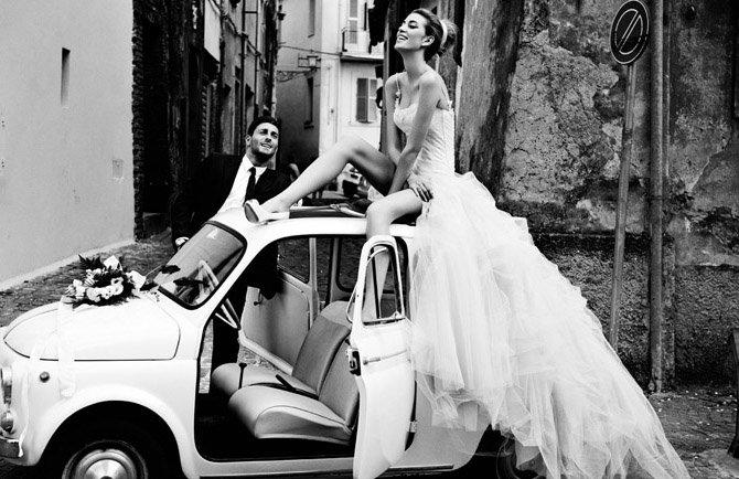 ασπρόμαυρη φωτογραφία γάμου ιδέες1