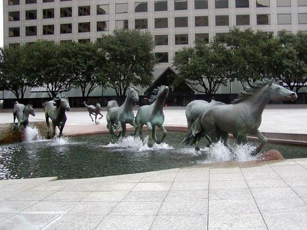 Mustangy, Las Colinas, Texas, USA