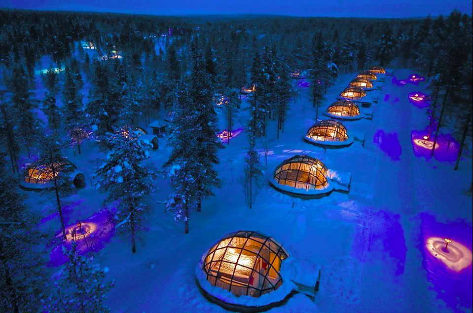 The Kakslauttanen Arctic Resort in Saariselkä2