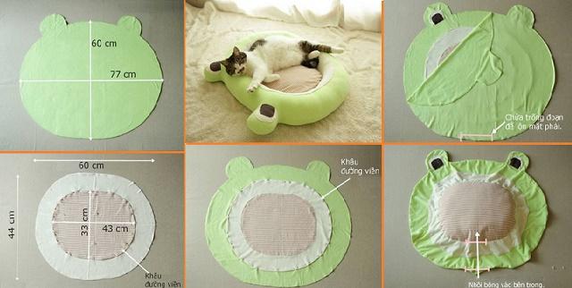 Μαλακό κρεβάτι για τη γάτα σας