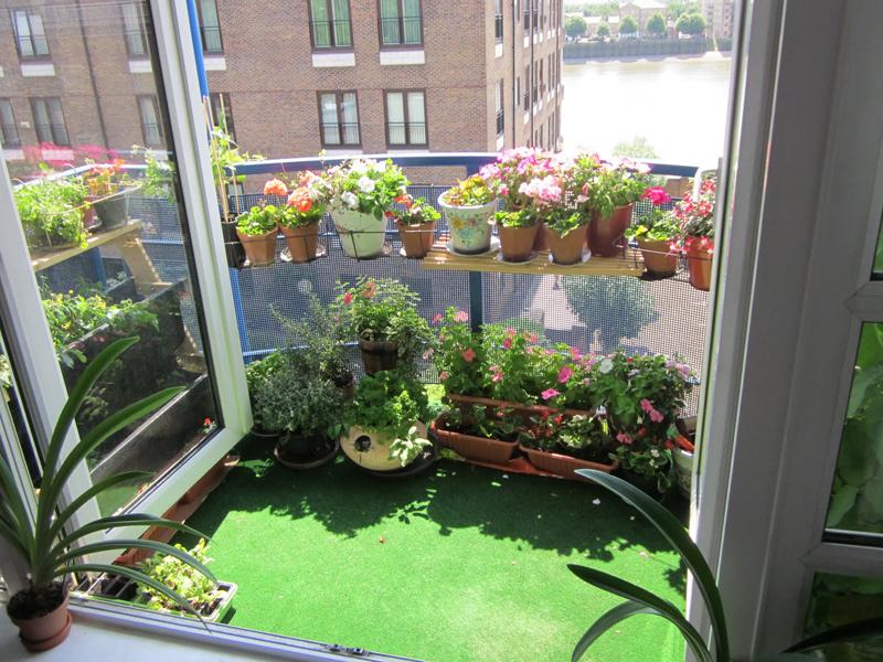Μπαλκόνι με λουλούδια11