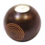 Ξύλινο κηροπήγιο (Μπάλα)
